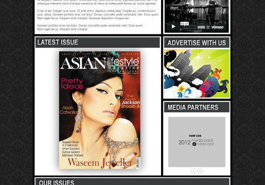 Asian Lifestyle Magazine
