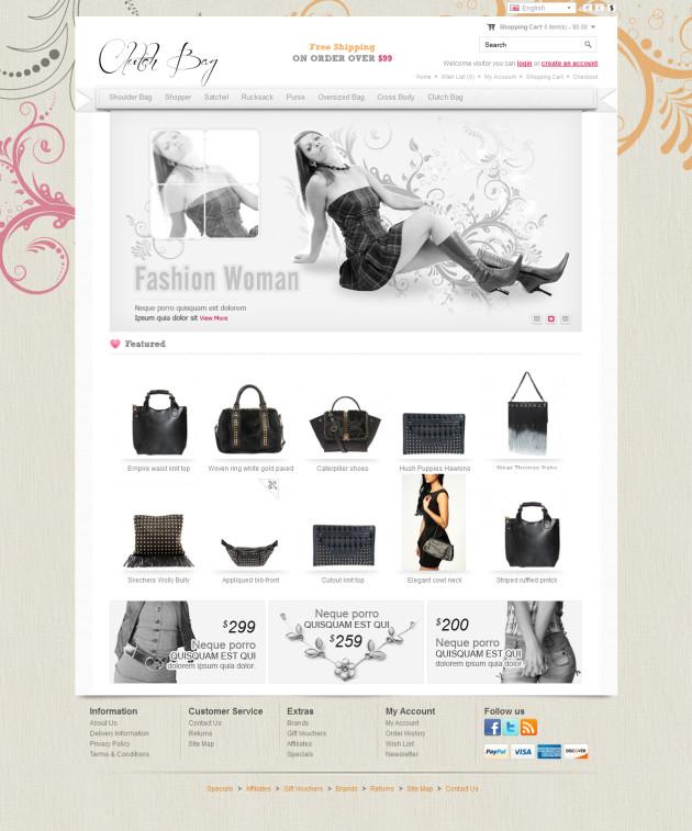 Clutch Bag Online Store