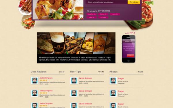 Menu Ready – Food Search Engine