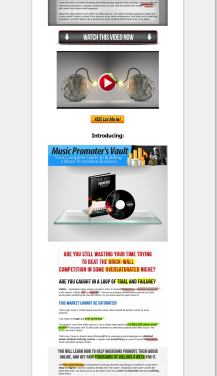 Music Promoters Vault